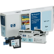HP 81 Light Cyan Printhead and Cleaner (C4954A)