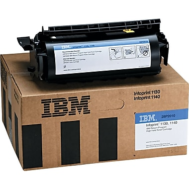 IBM/InfoPrint 28P2010 Black Toner Cartridge, High Yield