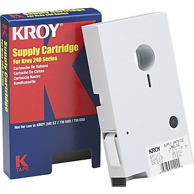 Kroy Labeling Cartridges for 240 Series