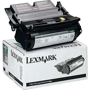 Lexmark 12A6830 Black Return Program Toner Cartridge