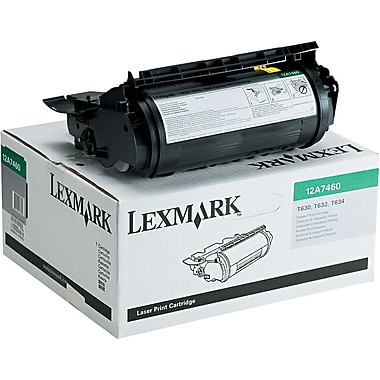 Lexmark™ 12A7460 Black Toner Cartridge