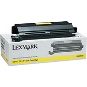 Lexmark™ 12N0770 Laser Toner Cartridge, Yellow