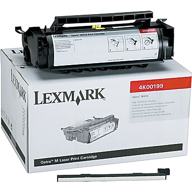 Lexmark 4K00199 Black Toner Cartridge, High Yield