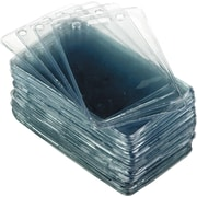 Advantus 75451 Proximity ID Badge Holder, Clear, 50 Per Pack by