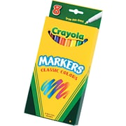 Crayola Bolder Markers, 8/Box