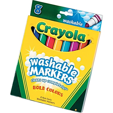 Crayola® Bold Colors, Broadline, 8/Box