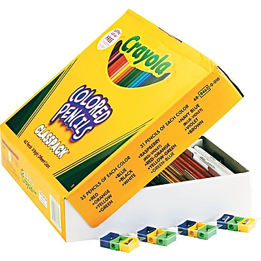 Pencil Classpack, Colored, 462/Box