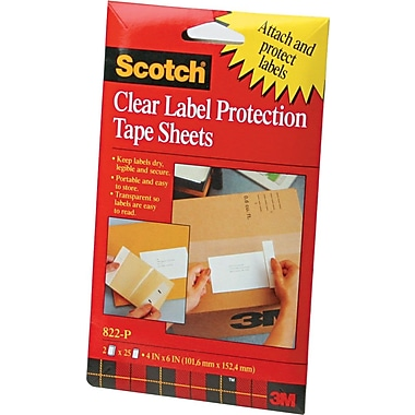 Scotch™ Heavyweight Label Protectors