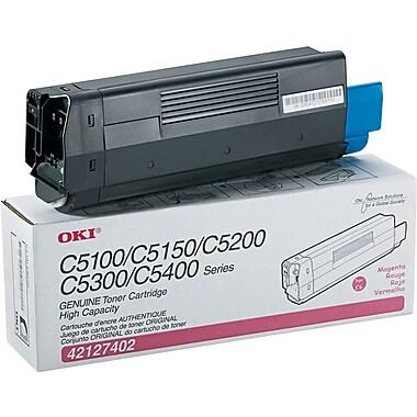 OKI C6 Toner Cartridge, Magenta (42127402)