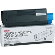 OKI 42127404 Black Toner Cartridge, High Yield