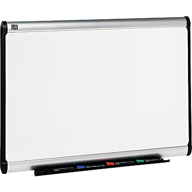Quartet® Prestige Plus® DuraMax® Porcelain Dry-Erase Boards with Aluminum Frame