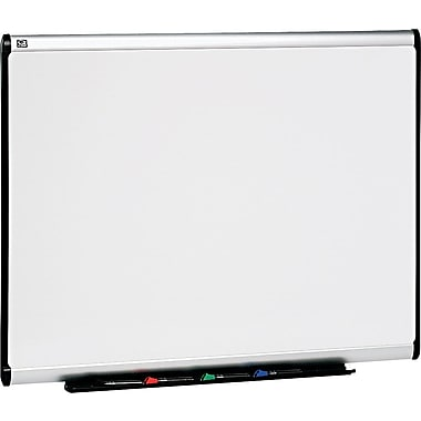 Quartet® Prestige Plus® DuraMax® Porcelain Dry-Erase Boards with Aluminum Frame, 4'x3'