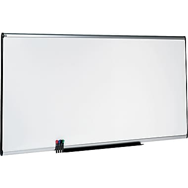 Quartet® Prestige Plus® DuraMax® Porcelain Dry-Erase Boards with Aluminum Frame, 8'x4'