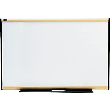 Quartet® Prestige® Total Erase® Dry-Erase Board with Light Maple Finish Frame, 3' x 2'