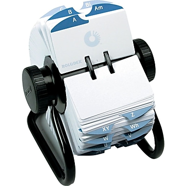 Rolodex® Metal Open Rotary Files
