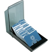 Rolodex® 200 Card Covered Business Card File, 2 5/8 x 4