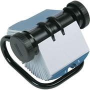 Rolodex® Rotary Open Business Card File, 200 Cards/200 Sleeves, 400 Card Capacity