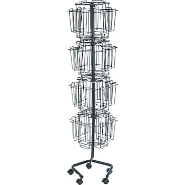 Safco Rotary Wire Literature Rack, Brochure Size