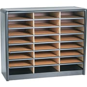 Safco® Value Sorter 24, 36 and 72 Compartment Steel Literature Organizers