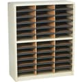 Safco® Value Sorter Literature Organizer, 36 Compartment, 32 1/4in. x 13 1/2in. x 38in., Sand