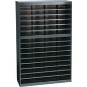 Safco®  EZ STOR Literature Organizer, 60 Compartment, 37 1/2x 12 3/4x 60, Black
