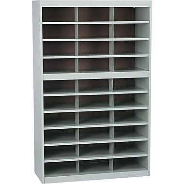 Safco Metal E-Z Stor® Project Centers, Gray, 30 Compartments
