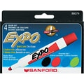 Expo® Original Dry-Erase Markers, Bullet Tip, Assorted Colors, 4/Pack