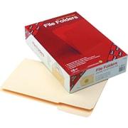 "Smead Top Tab Manila File Folders, 1/3 Tab Cut, Legal,-size Holds 8 1/2"" x 14"", 100/Bx"