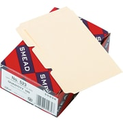 Smead® Manila Card Guides, 5 x 3, Manila, 100/Box (55030)