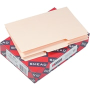 Smead® Manila Card Guides, 8 x 5, Manila, 100/Box (57030)