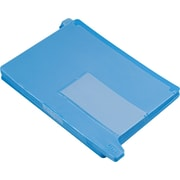 "Smead Tab Out Guide, 2 Pocket, 13 1/4""W x 9""H, Blue"