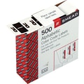 Smead® A-Z Color-Coded Bar-Style Letter in.Rin. End Tab Labels, Brown, 1in.x1-1/4,in. 500 Labels/Roll