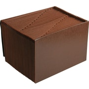 "Smead Kraft Daily Expanding File, Brown, 31 Pockets, Legal Size 15"" x 10"""