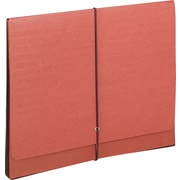 "Super-Tuff Expanding Wallets, 5-1/4"" Expansion, 12-3/8 x 10, Redrope/Manila"