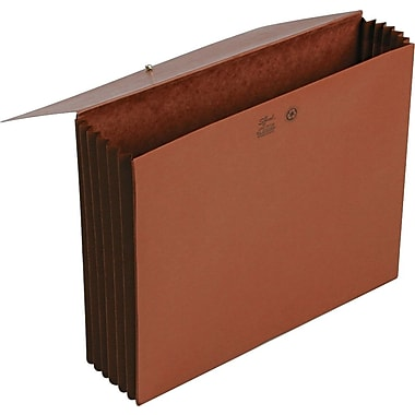 Smead Extra Wide Expanding Wallets, Letter, 5 1/4in. Expansion, Each