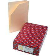Smead®  End Tab File Jacket, Reinforced Straight-Cut Tab, Flat-No Expansion, Legal Size, Manila, 100 per Box (76700)