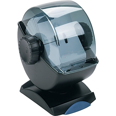 Rolodex Covered Rotary Swivel Card File, 2 1/4in. x 4in.