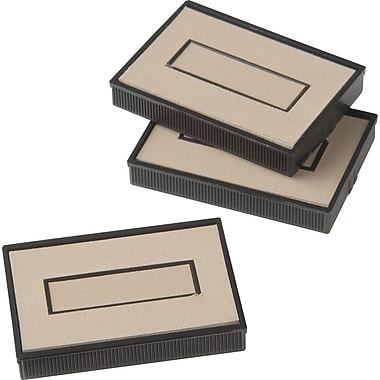 Dry Replacement Stamp Pads, 2 Color
