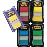 Post-it® - Languettes, 1 po avec onglets durables en prime, couleurs variées, paq./225