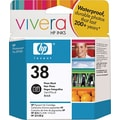 HP 38 Photo Black Ink Cartridge (C9413A)