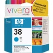 HP 38 Cyan Ink Cartridge (C9415A)