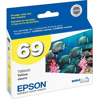 Epson 69 Yellow Ink Cartridge (T069420)