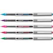 uni-ball® Vision™ Rollerball Pens, Fine Point, Assorted Colors, 5/Pack (60381PP)