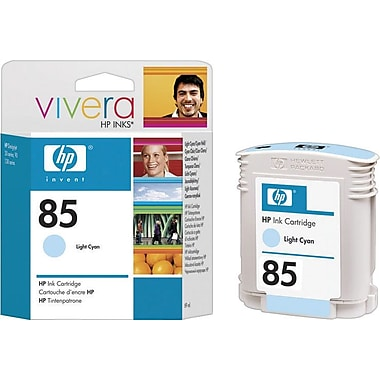 HP 85 Light Cyan Ink Cartridge (C9428A), 69ml