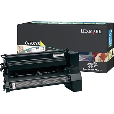 Lexmark C7700YS Yellow Toner Cartridge