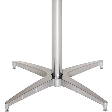 Iceberg OfficeWorks Pedestal Base, Chrome