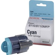 Xerox Phaser 6110/6110MFP Cyan Toner Cartridge (106R01271)