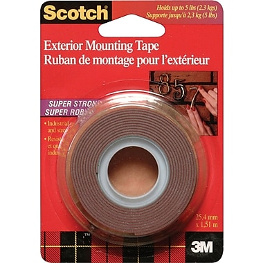 Scotch™ Mounting Tape, Super-Strong Exterior