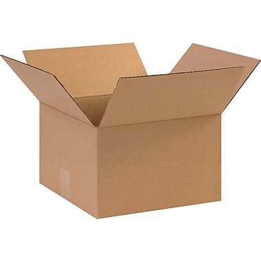 11in.(L) x 11in.(W) x 7in.(H) - Staples Corrugated Shipping Boxes