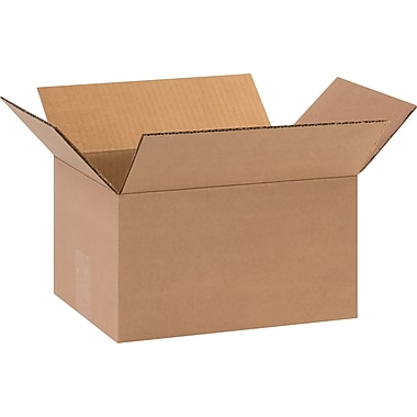 11in.(L) x 8in.(W) x 6in.(H) - Staples Corrugated Shipping Boxes